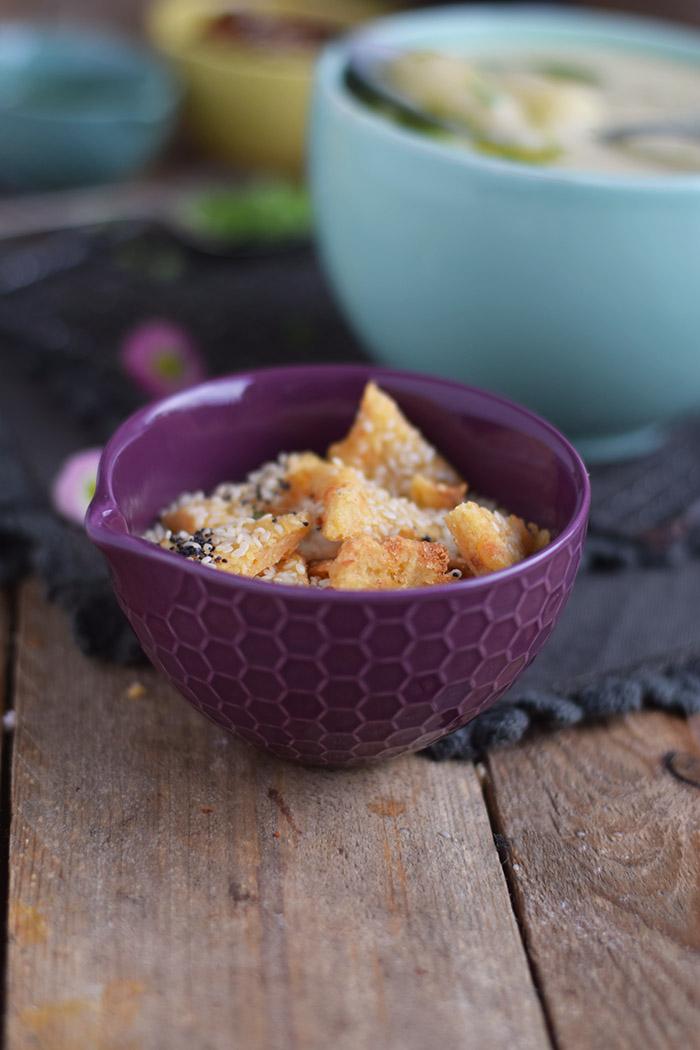 Spargelsuppe mit geheimer Zutat - Asparagus Soup (6)