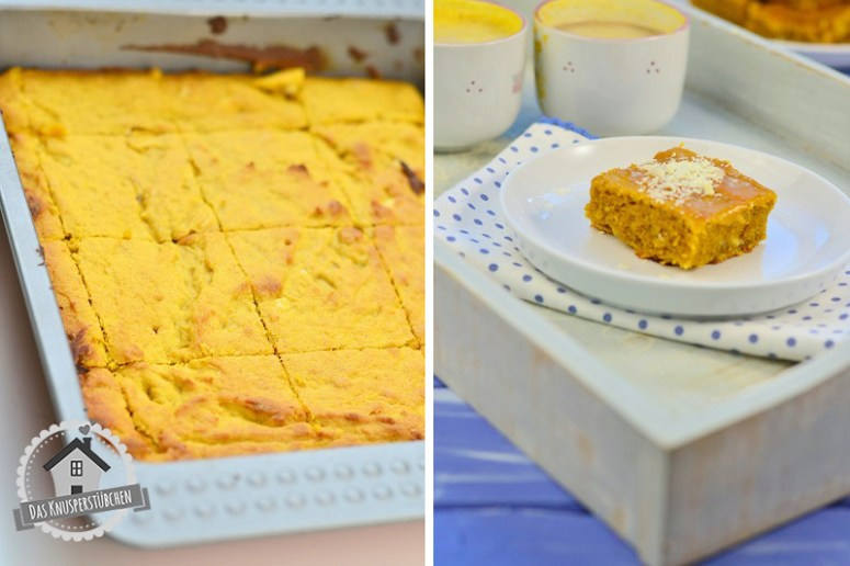 pumpkin pie blondies