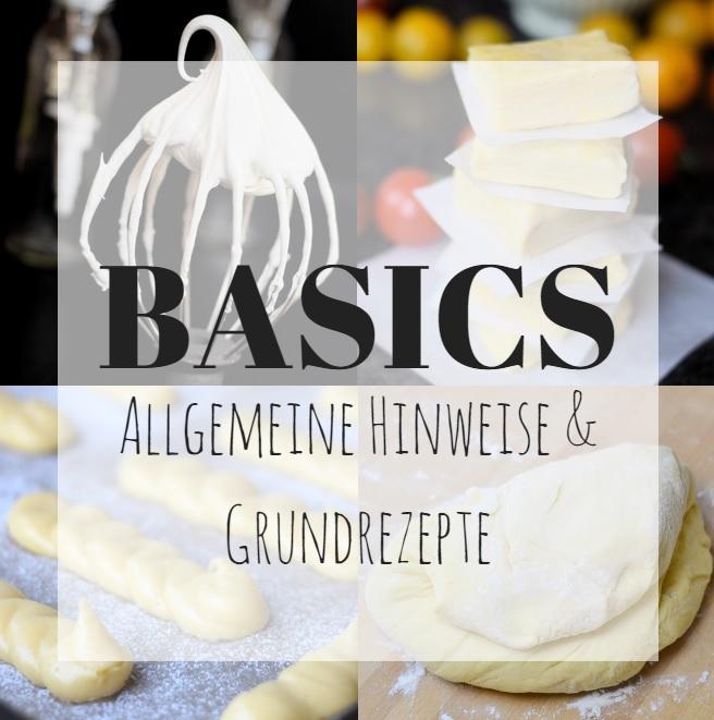 Basics und Grundrezepte