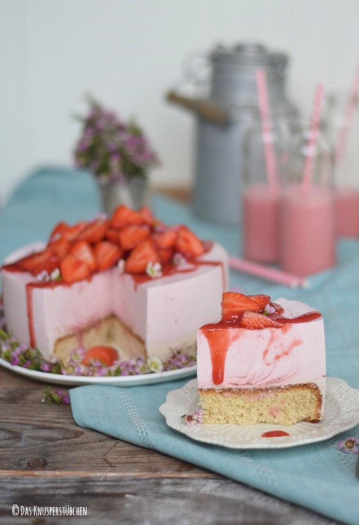 Erdbeershake Torte 17