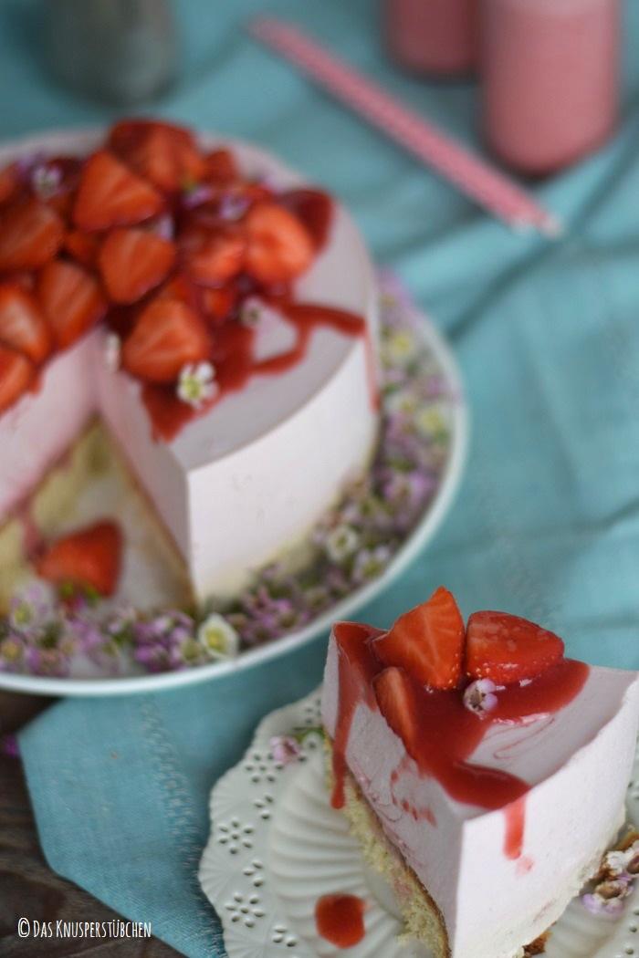 Erdbeershake Torte 19