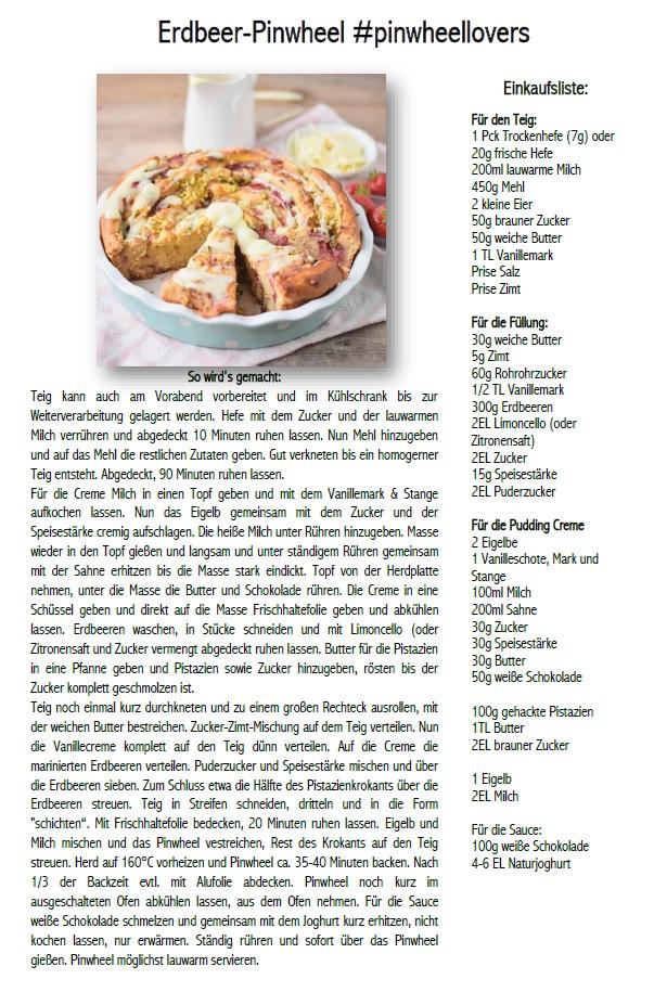 Pinwheel Pinwheellovers Erdbeeren Pudding Pistazienkrokant Rezept