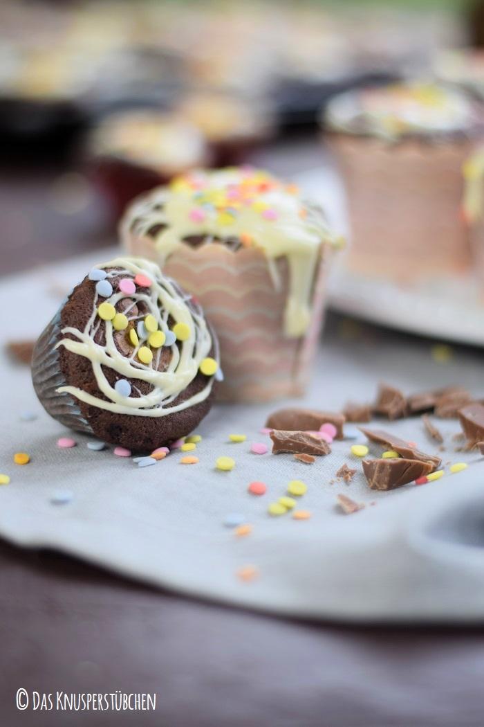 Schoko Cheesecake Muffins 14