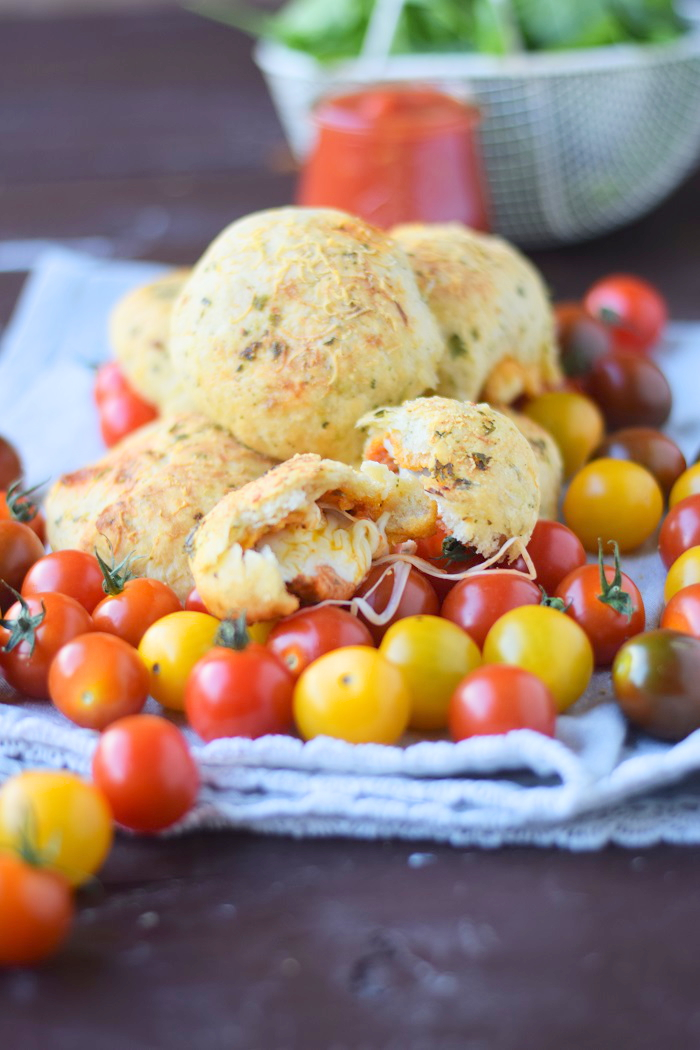 BBQ Broetchen - BBQ Rolls filled with Cheese and tomato sauce 4