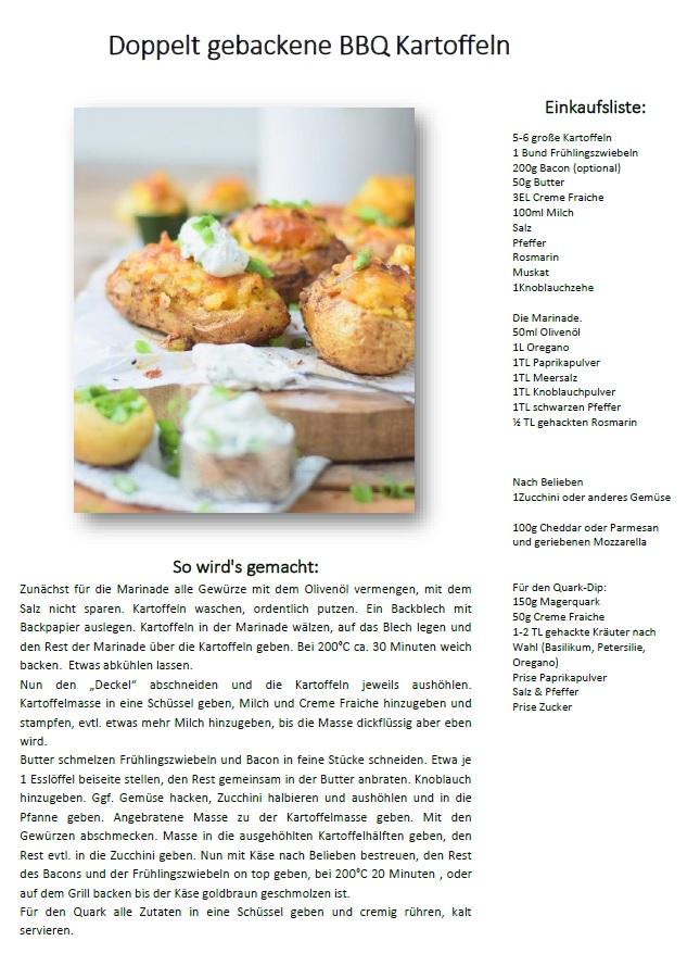 BBQ Kartoffeln Rezept