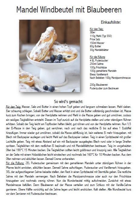 Windbeutel Brandteig Rezept