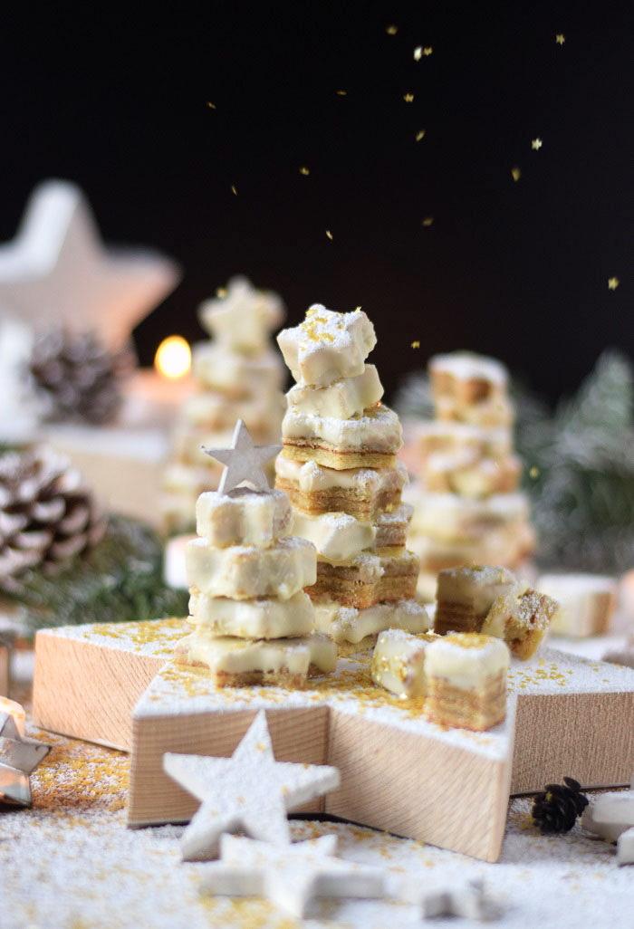Baumkuchen mit weißer Schokolade - Tree Cake (9)