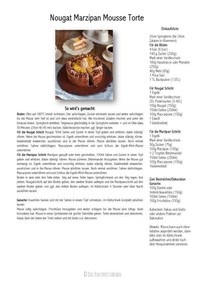Nougat Marzipan Torte-001