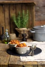 Bauerntopf - Tomaten Kartoffel Topf mit Hackfleisch - Minced Meat Tomato Stew with Potatoes and red pepper (5)