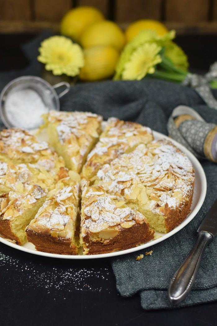 Zitronen Mandelkuchen Glutenfrei - Lemon Almond Cake Glutenfree (12)