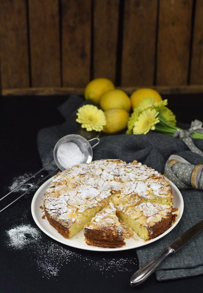 Zitronen Mandelkuchen Glutenfrei - Lemon Almond Cake Glutenfree (6)