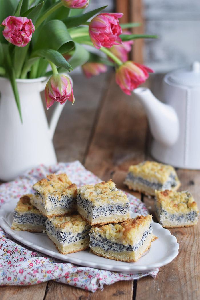 Mohn Streusel Quarkkuchen vom Blech - Poppyseed Cheesecake (2)