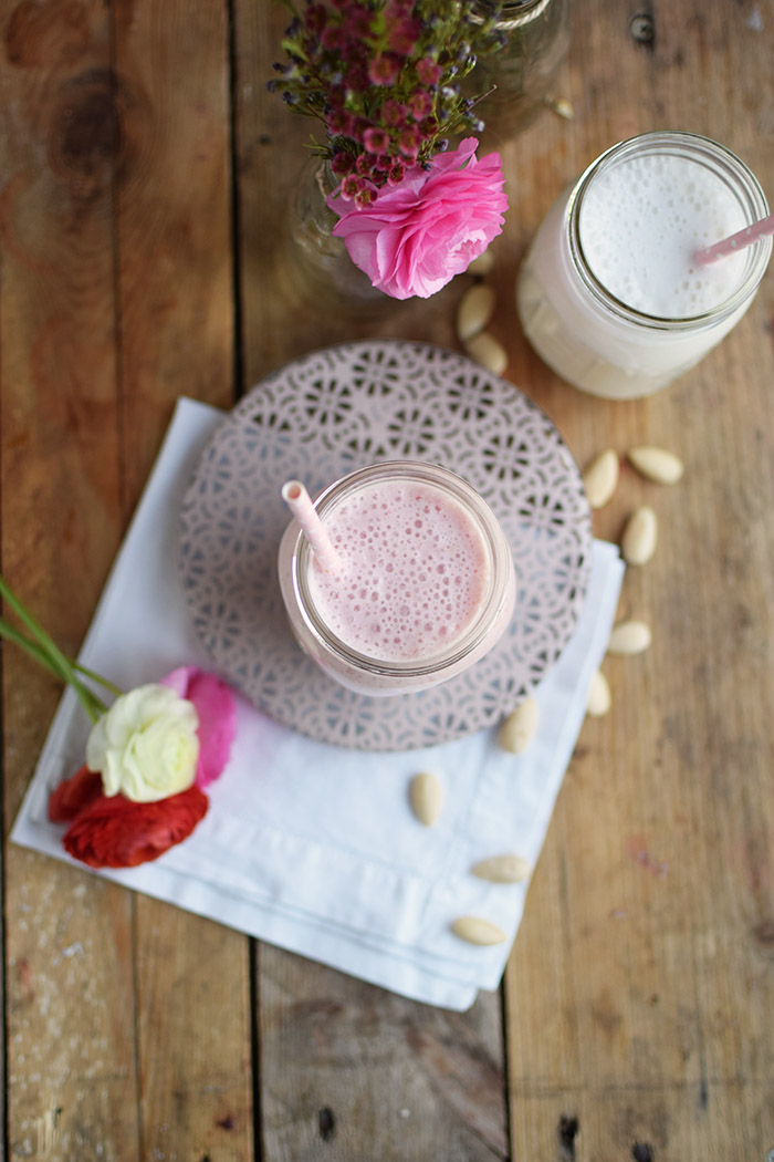 Erdbeer Smoothie Shake - Strawberry Breakfast Smoothie Shake (12)