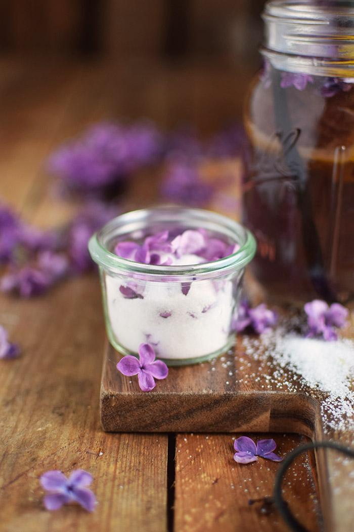 Flieder Blueten Sirup - Lilac Syrup - Fliedersirup (20)