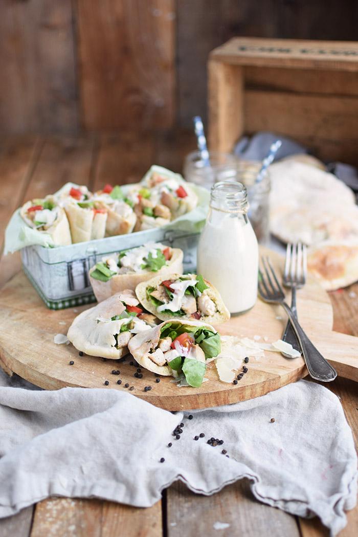 Caesar Salat Pitas - Caesar Salad Pita Bread (21)