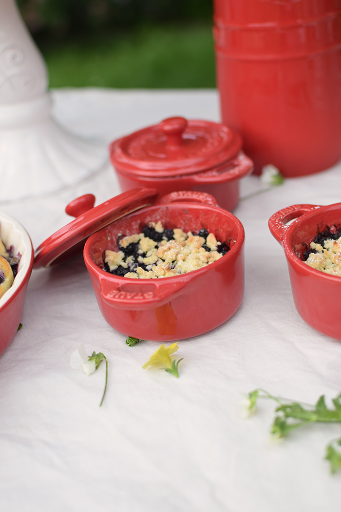 Beeren Crumble mit Ahornsirup - Berry Crumble with maple syrup (5)