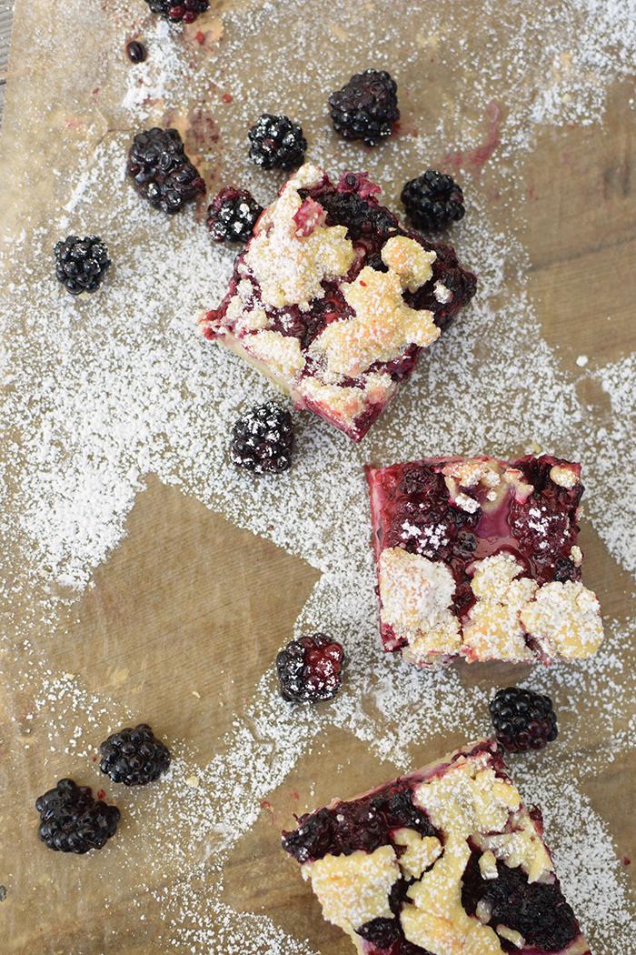 Brombeer Streuselkuchen - Blackberry Crumble Cake (10)