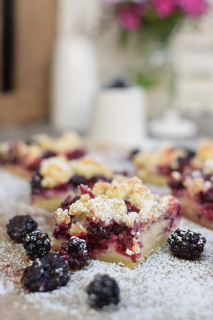 Brombeer Streuselkuchen - Blackberry Crumble Cake (2)
