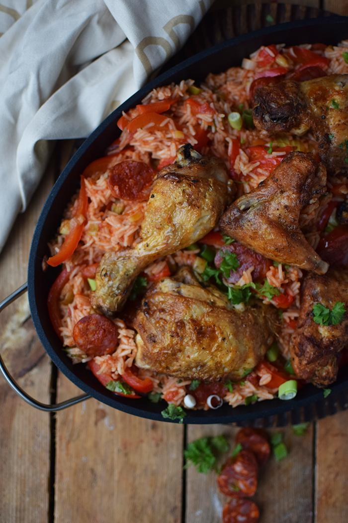 Spanish Chicken - Spanische Reispfanne (14)