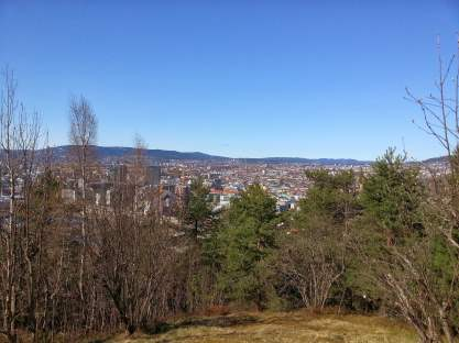 Oslo fra Ekeberg