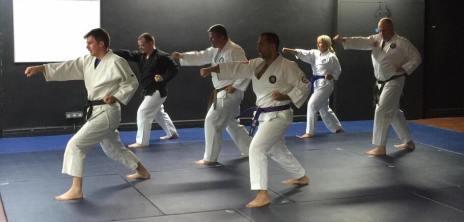 First Session - 3rd November 2016 (c) Knutsford Ju Jitsu