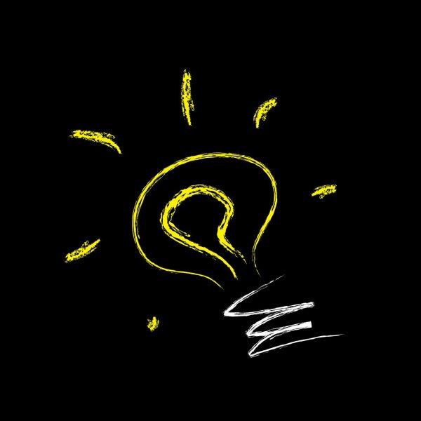 Glühbirne, Gedankenblitz, Text & Konzeption