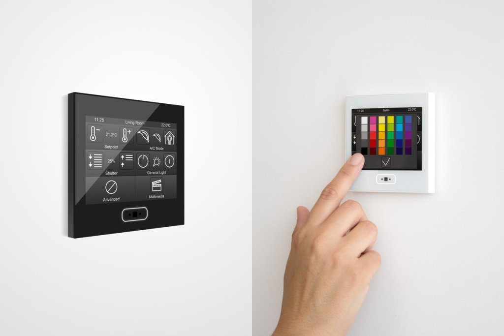 Zennio KNX Colour Changing Tablet