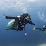 Отчет по курсу обучения погружению с аквалангом дайверов с параплегией и двойной ампутацией ног.
