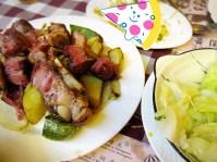 Nga Tim Pork Knuckles and veggies ~