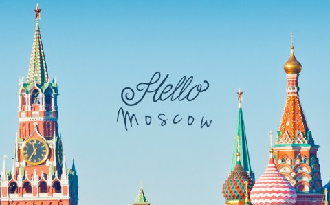 Moscow! My First Impression.