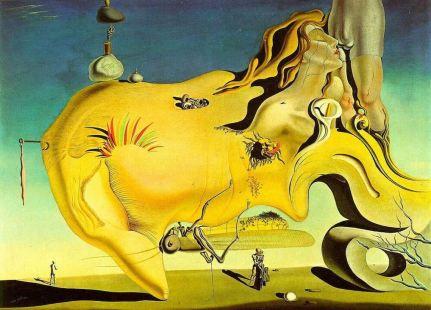 The Great Masturbator - Salvador Dalí, 1929