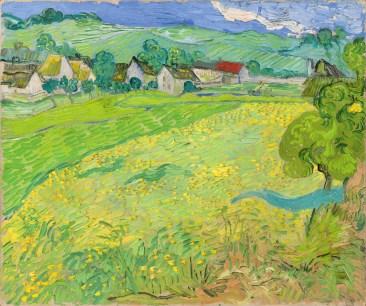 Les Vessenots in Auvers - Van Gogh, 1890