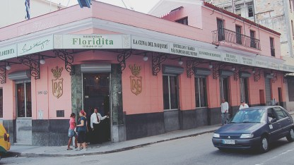 Floridita, where Hemingway visit all the time!