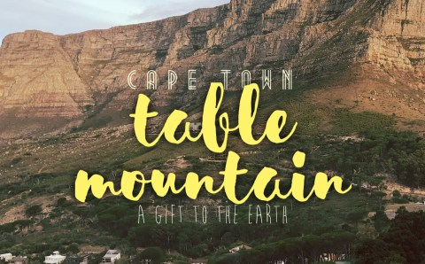 A Gift to the Earth, Table Mountain