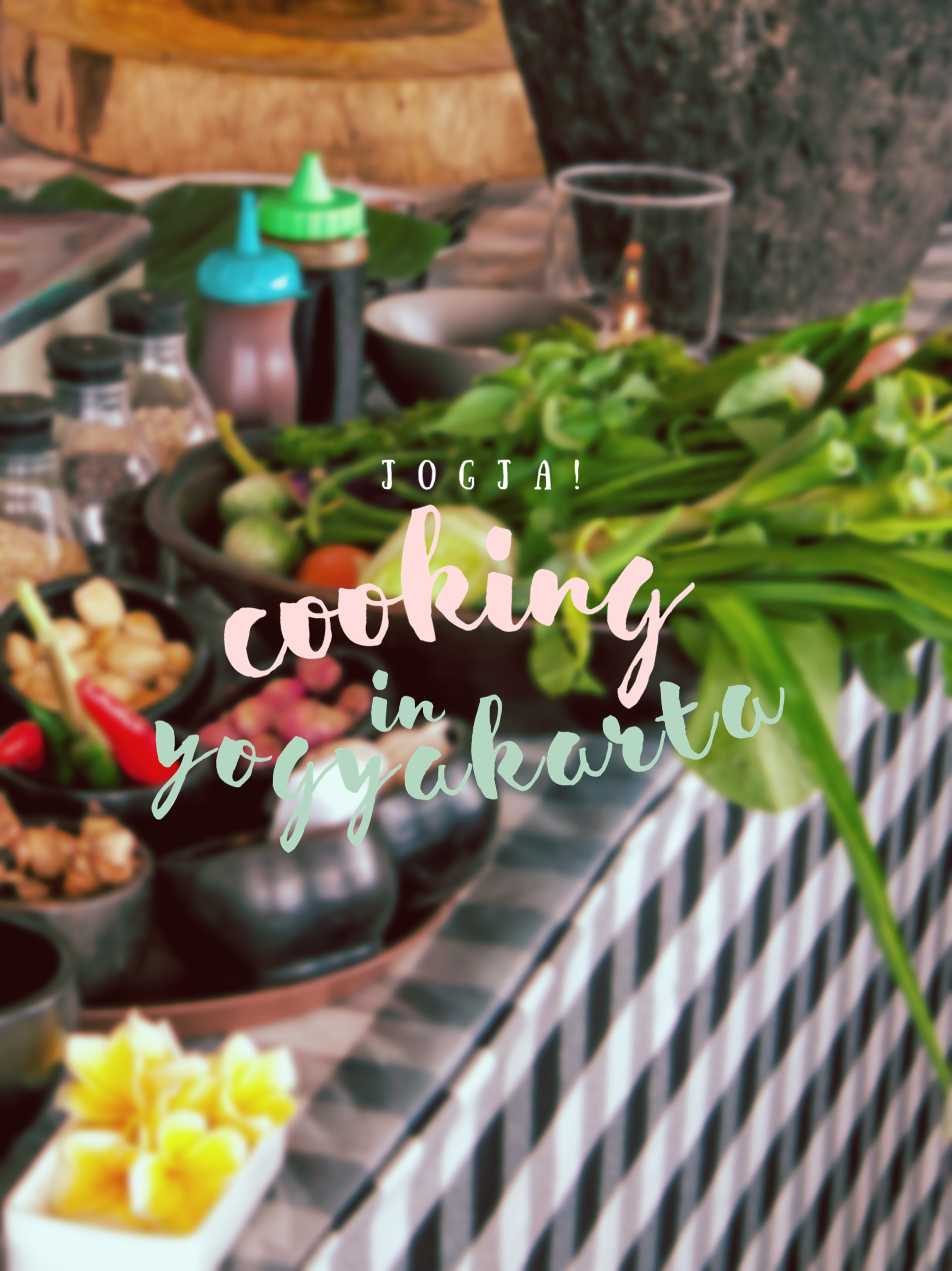 An Authentic Cooking Class and Local Market Visit in Yogyakarta