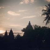 Yogyakarta Java Prombanan Sunset - 2