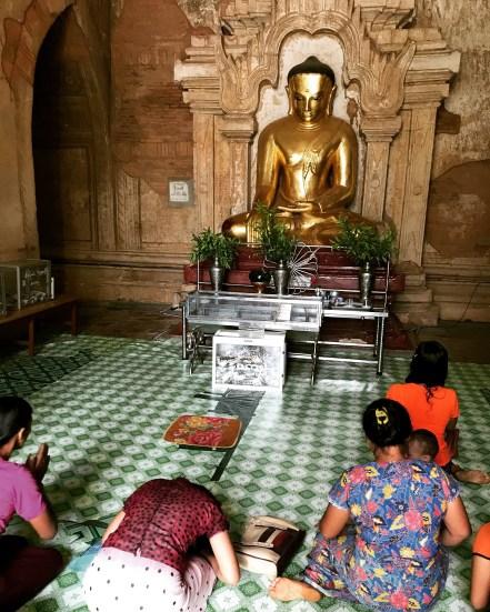 Bagan 10 Htilominlo Temple 5