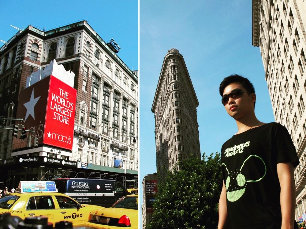 7. NYC Flatiron Building