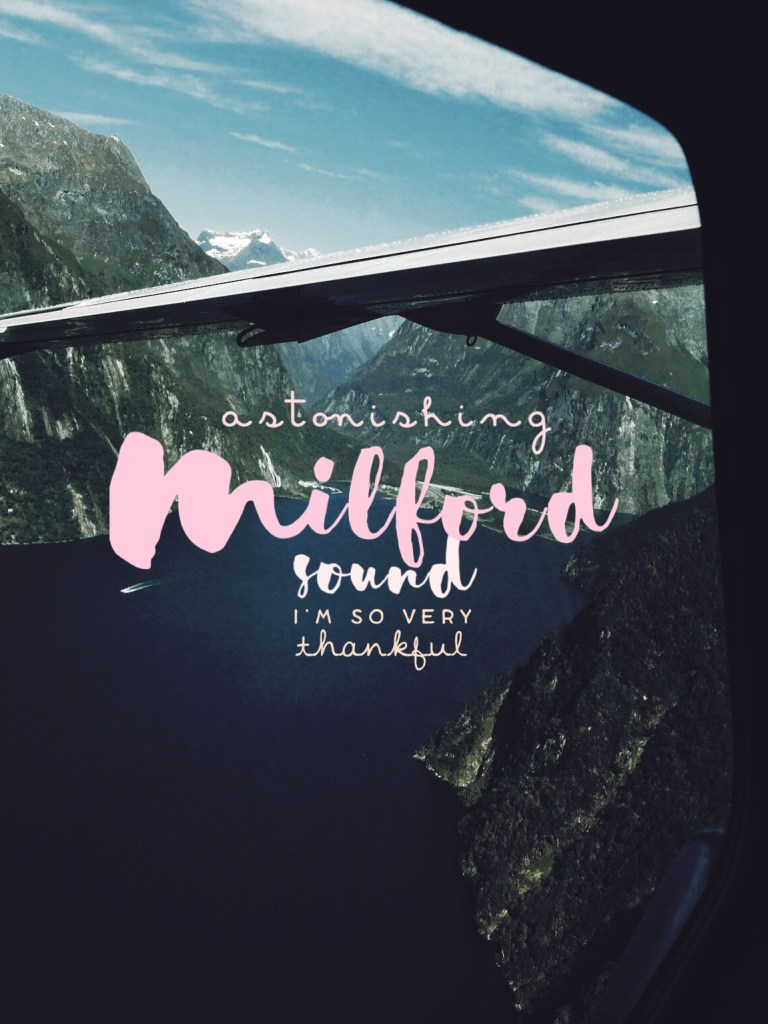 Milford Sound, Fly. Cruise. Fly!
