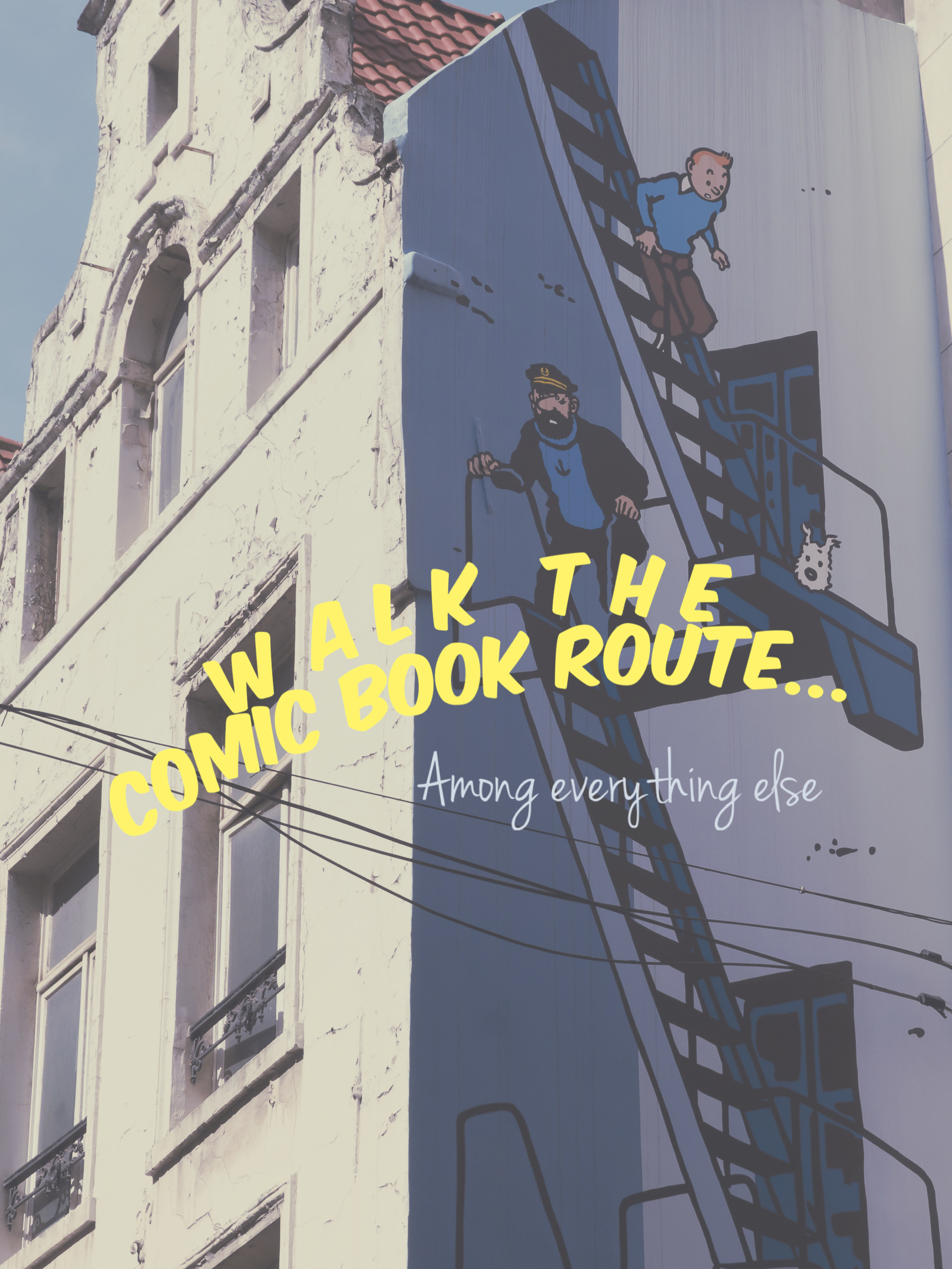 Walk the Brussels Comic Book Route, among the City Highlights