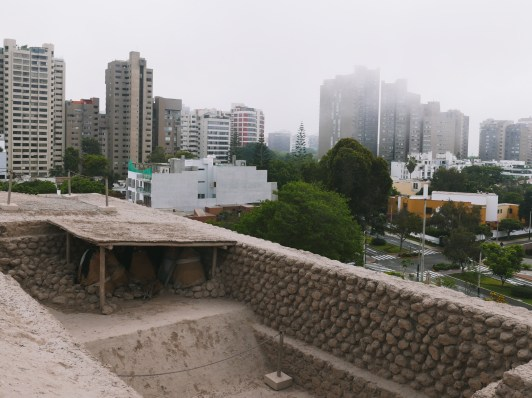 Huaca Huallamarca, Lima, Peru - A 3-Day Itinerary that covers Lima's (the Capital of Peru) historic old town, Miraflores district, the nearby neighborhoods, and some incredible fine dining experience.