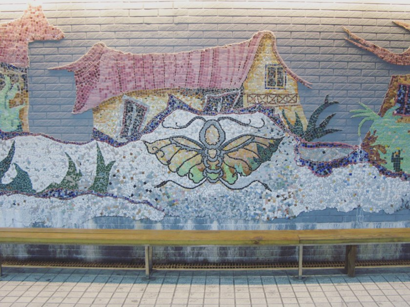 2 Admire Colorful Mosaic in a Tunnel