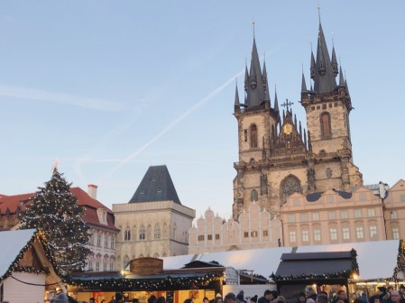Prague, Europe Christmas Market