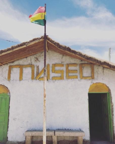 Uyuni Bolivia and a small museum