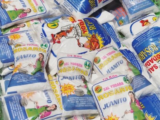 Buy some salts in Uyuni market as a souvenir, Bolivia