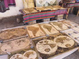 Merchandise in Uyuni's market, Bolivia.