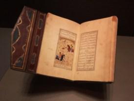 Museum of Islamic Art Exhibit 6 - Diwan of Jami (Copied by Pir Musayn al-Katib al-Shirazl Iran (Shiraz) 1540 AD