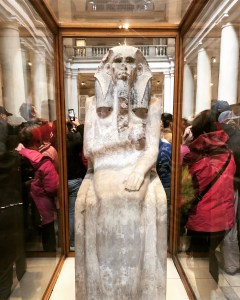 Egyptian Museum (3) - Limestone Statue of Djoser
