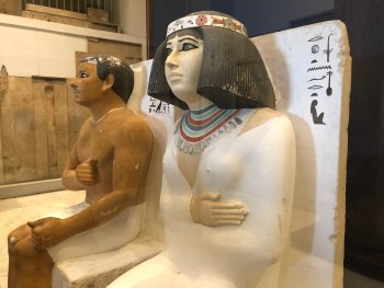 Egyptian Museum (6) - Statues of Rahotep and Nofret