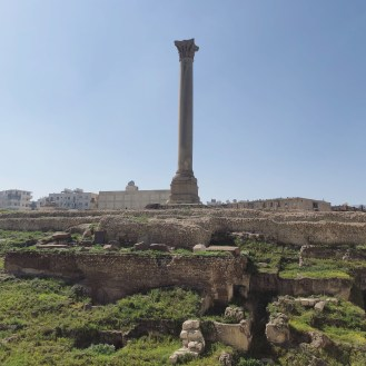 Serapeum and Pompey's Pillar 1